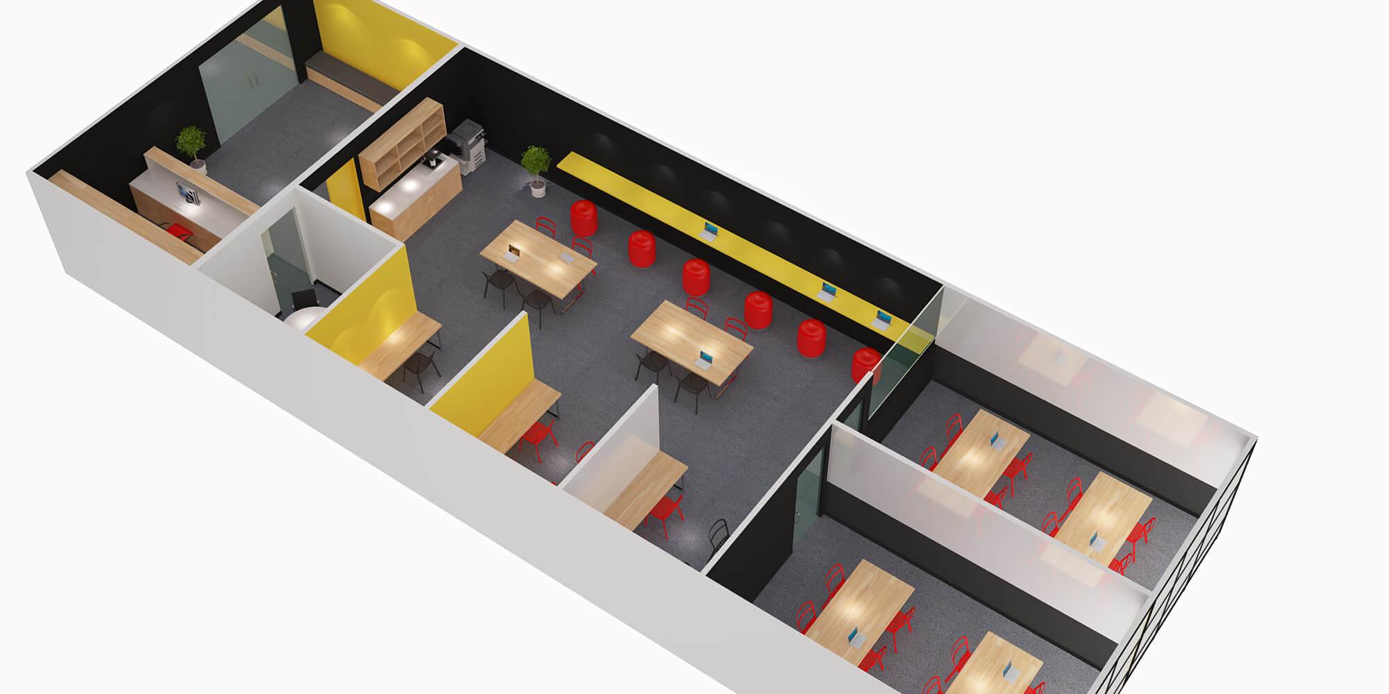 3d Floor Plan_Revision1_View 2