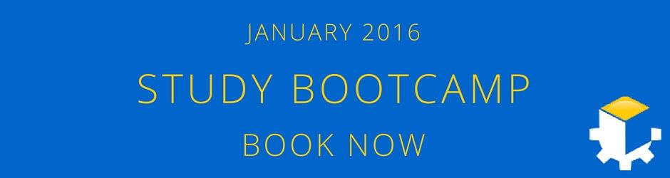 January 2016 Study Bootcamp