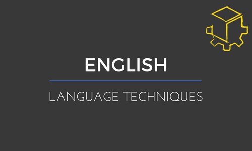 Why knowing language techniques is half the battle