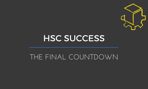 The Final Count Down to The HSC Exam