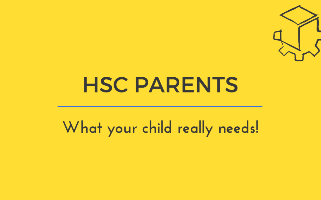 Demystifying the HSC for Parents!