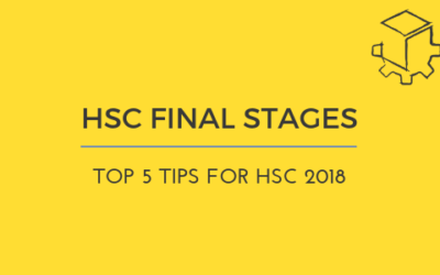 Top 5 Tips for the Final Stages of HSC 2018