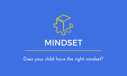 Does your child have the right mindset?
