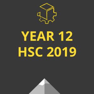year 12 hsc 2019
