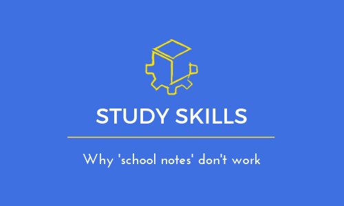 Why 'school notes' don't work