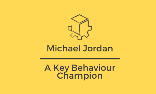 Michael Jordan and the HSC CoWorks Key Behaviours