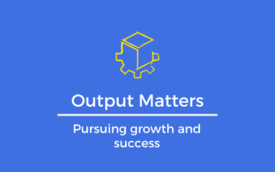 Output Matters: Why You Can't Just 'Show Up'