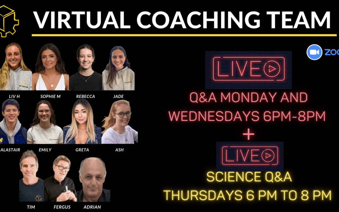 Our virtual coaching offerings are here to stay