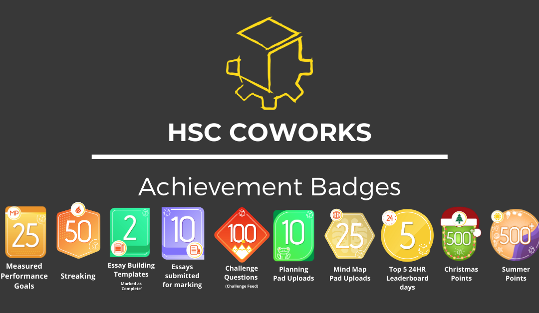 Introducing the CoWorks Achievement Badges