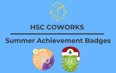 Summer Challenge Achievement Badge