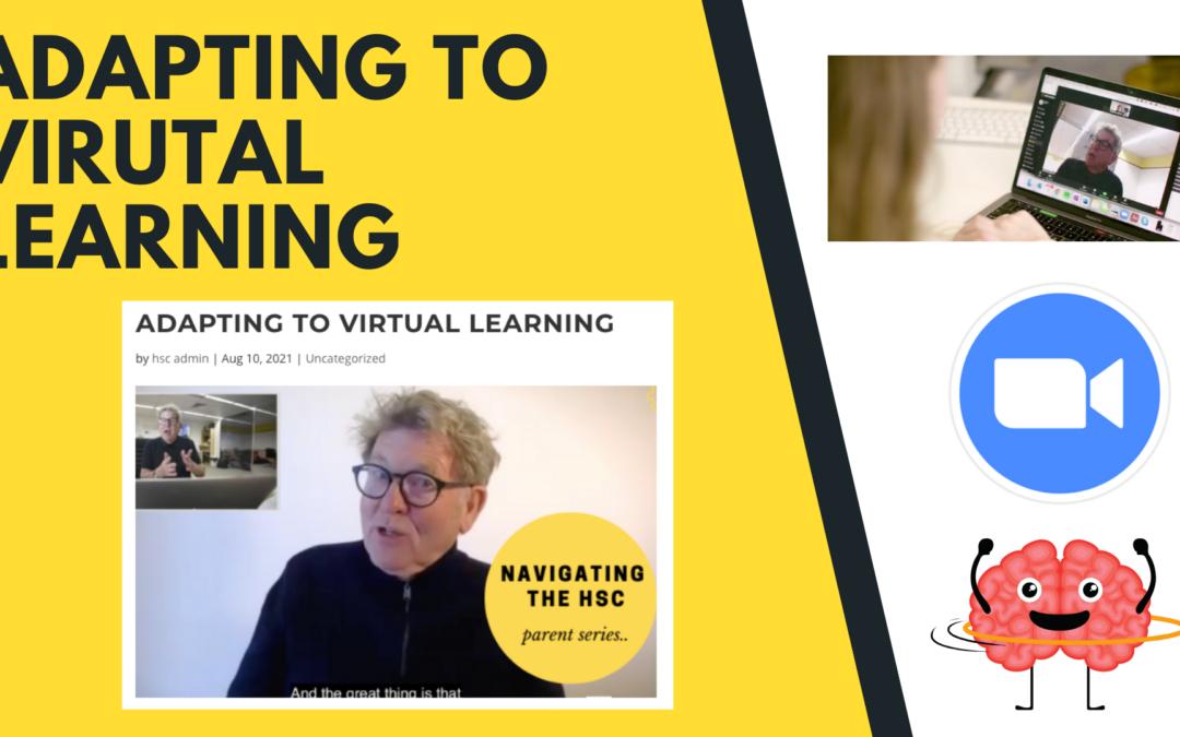 Adapting to virtual learning