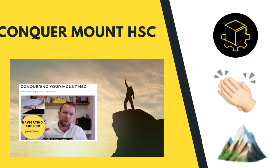Conquering your Mount HSC