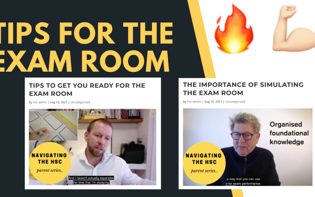 Tips to get you ready for the exam room (Part 1)