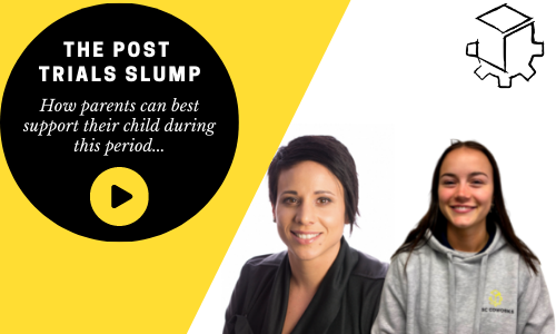 Supporting students with the inevitable 'post trials slump'