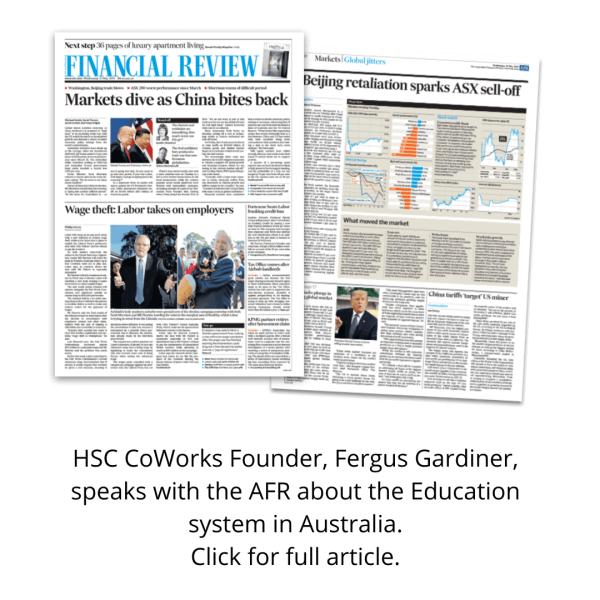 HSC Coworks Founder Fergus